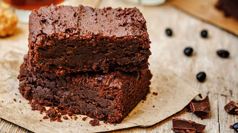 Brownie di fagioli neri