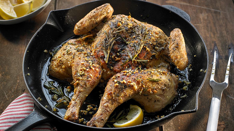 Pollo alle erbe e limone
