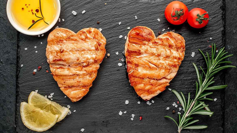 Bistecche di salmone grigliate